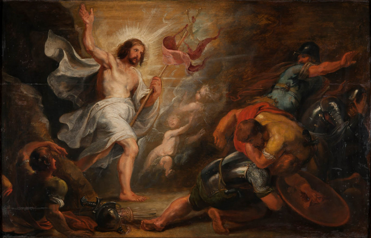 Rubens, La Résurrection du Christ, 1617-1619, MBA 101.
