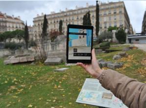 """Utilisation de l'application """"Musée d'Histoire de Marseille"""""""