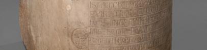 Fragment de pilier de l'église des Accoules