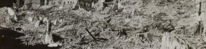 Destruction des vieux quartiers